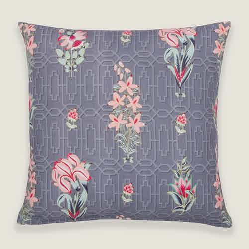 Mahua Floral Cushion Cover from Tikauo in Cushions & Covers, Furnishings