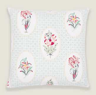Champa Floral Cushion Cover from Tikauo in Cushions & Covers, Furnishings