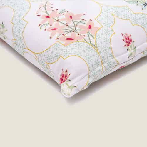 Suman Floral Cushion Cover from Tikauo in Cushions & Covers, Furnishings