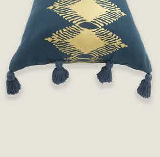 Adah Cushion Cover in Blue from Tikauo in Cushions & Covers, Furnishings