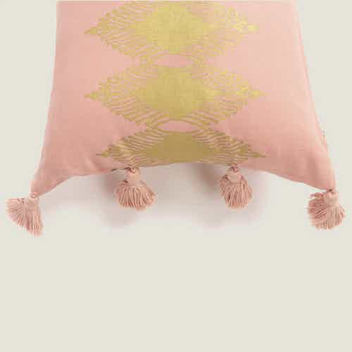 Adah Cushion Cover in Pink from Tikauo in Cushions & Covers, Furnishings