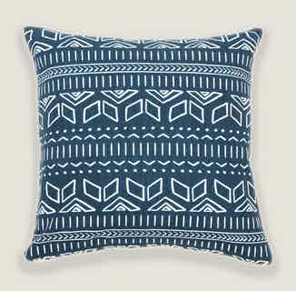 Iman Cushion Cover in Blue from Tikauo in Cushions & Covers, Furnishings