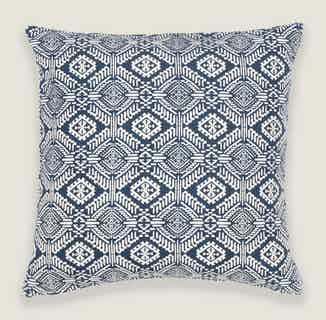 Omar Cushion Cover in Blue from Tikauo in Cushions & Covers, Furnishings