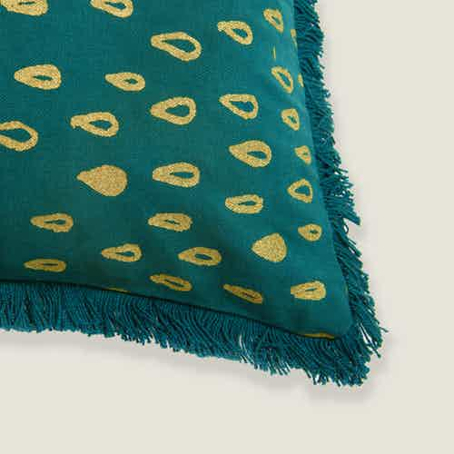 Mirage Rain Drops Cushion Cover from Tikauo in Cushions & Covers, Furnishings