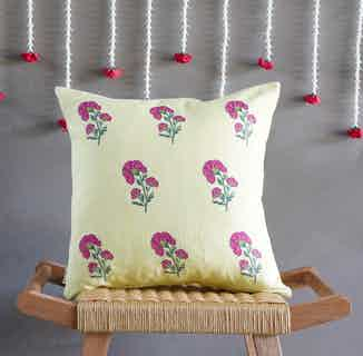 Alia Floral Cushion Cover from Tikauo in Cushions & Covers, Furnishings