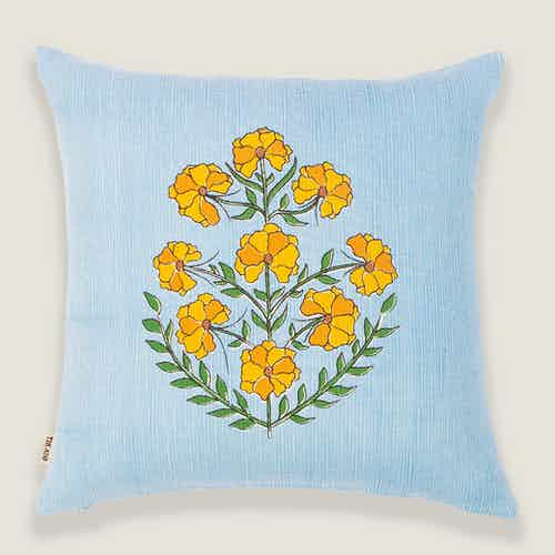 Zareen Floral Cushion Cover from Tikauo in Cushions & Covers, Furnishings