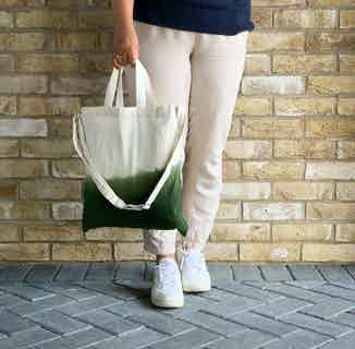 Ombre Tote in Green from Tikauo in Totes Shoppers, Bags