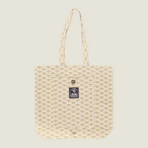 Ikigai Magic Tote Bag in Herb from Tikauo in Totes Shoppers, Bags