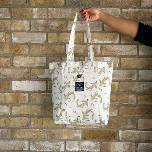 Sakana Magic Tote Bag in Herb from Tikauo in Totes Shoppers, Bags