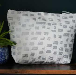 Mirage Bricks Wash Bag from Tikauo in Wash Bags, Travel Essentials & Storage