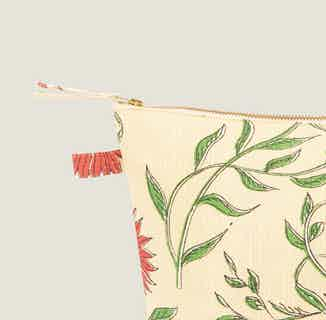 Firdos Floral Wash Bag from Tikauo in Wash Bags, Travel Essentials & Storage