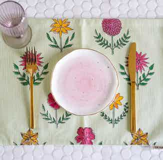 Gulzar Floral Placemats - Set of 2 from Tikauo in Dining, Kitchen