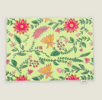 Shalimar Floral Placemats - Set of 2 from Tikauo in Dining, Kitchen