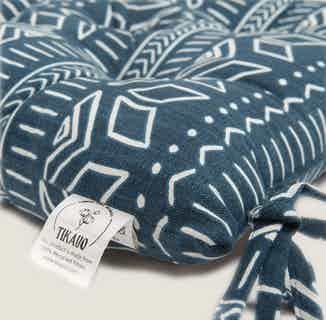 Iman Blue Seat Pads from Tikauo in Seat Pads, Furnishings