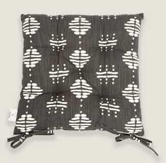 Nala Seat Pad in Charcoal from Tikauo in Seat Pads, Furnishings
