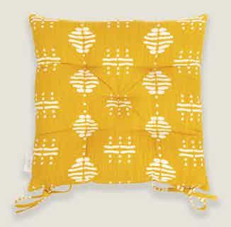 Nala Yellow Seat Pads from Tikauo in Seat Pads, Furnishings