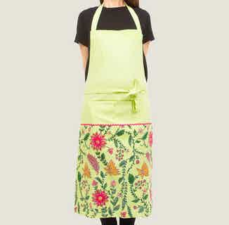 Shalimar Floral Apron from Tikauo in Cooking, Kitchen
