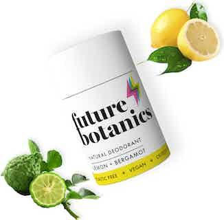 Lemon + Bergamot Natural Deodorant 70g from Future Botanics in Deodorants, Hygiene