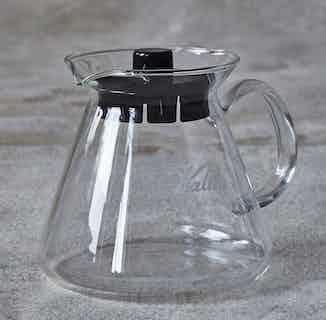 Kalita Glass Coffee Server   500ml from London Grade Coffee in Kitchen, Sustainable Homeware & Leisure