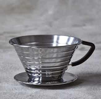 Kalita Wave 185   Filter Coffee Dripper from London Grade Coffee in Kitchen, Sustainable Homeware & Leisure