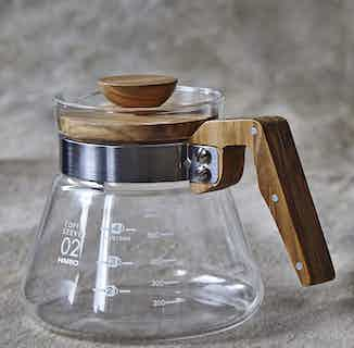 Hario V60   Olive Wood Coffee Server from London Grade Coffee in Kitchen, Sustainable Homeware & Leisure