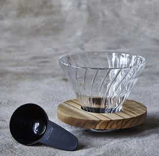 Hario V60   Olive Wood Coffee Dripper from London Grade Coffee in Kitchen, Sustainable Homeware & Leisure
