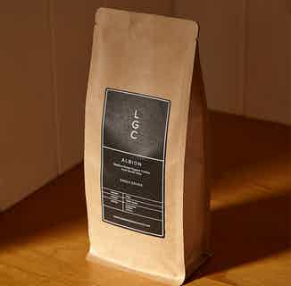 Albion | Medium Roast Organic Coffee from South India | 250g | 1kg from London Grade Coffee in Coffee, Drinks