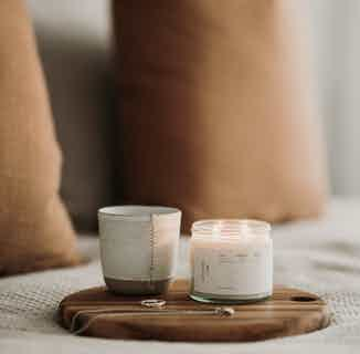 Natural Soy Wax Candle | Coconut + Lime | 20 or 30 Hours Burn from Soomish in Lighting & Candles, Homeware