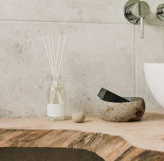 Natural Reed Base Diffuser | Coconut + Lime | 12- 16 weeks from Soomish in Scents & Fragrance, Homeware