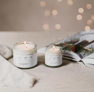 Natural Soy Wax Candle | Festive Spirit | 25 or 40 Hours Burn from Soomish in Lighting & Candles, Homeware