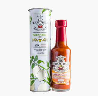 Limited Edition Dr Trouble African Lemon Chilli Sauce from Dr Trouble in Sauces, Cooking Ingredients
