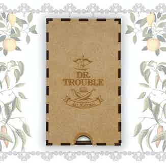 Box Set Dr Trouble African Double Oak Smoked Chilli Sauce 125ml & Lemon Chilli Sauce 125ml from Dr Trouble in Sauces, Cooking Ingredients