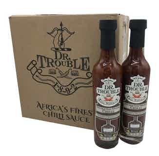 Dr Trouble African Double Oak Smoked Chilli Sauce 12 x 250ml from Dr Trouble in Sauces, Cooking Ingredients