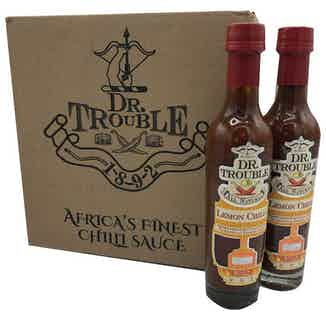 Dr Trouble African Lemon Chilli Sauce 12 x 250ml from Dr Trouble in Sauces, Cooking Ingredients
