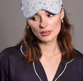 Organic Cotton Eye mask & Bamboo Silk Pillowcase Gift Set | Adriana from Billy Sleeps in Sleepwear, Women's Sustainable Clothing