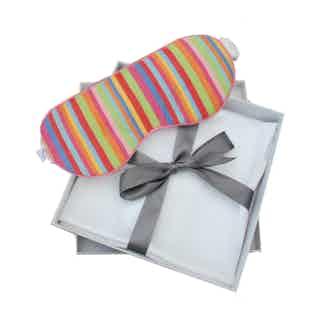 Organic Cotton Eye Mask & Bamboo Silk Pillowcase Gift Set | Jessica from Billy Sleeps in Sleepwear, Women's Sustainable Clothing
