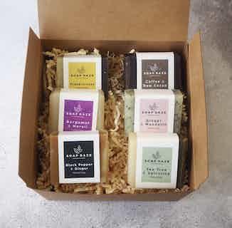Mini Eco Friendly Handmade Soap gift set | Nourish range | Set of 6 from Soap Daze in Gift Sets, Sustainable Beauty & Health
