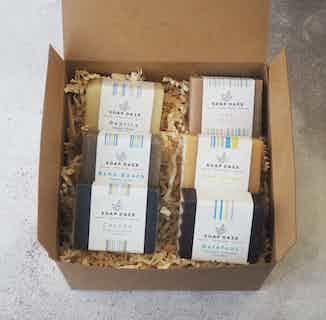 Mini Eco Friendly Handmade Soap gift set | Harmony range | Set of 6 from Soap Daze in Gift Sets, Sustainable Beauty & Health
