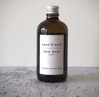 Organic Natural Body Oil   New Rose   100ml from Soap Daze in Oils, Sustainable Beauty & Health