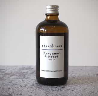 Organic Natural Body Oil   Bergamot Neroli   100ml from Soap Daze in Oils, Sustainable Beauty & Health