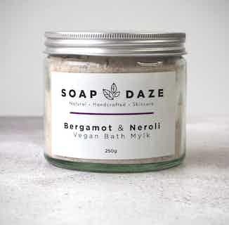 Eco- Friendly Handmade Bath Mylk   Bergamot & Neroli   250g from Soap Daze in Bath & Shower, Sustainable Beauty & Health