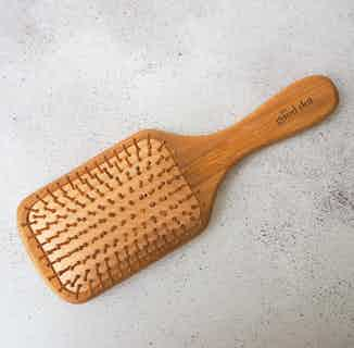 Bamboo Hair Brush Paddle | Tan Brown | Large from Soap Daze in Brushes and Tools, Haircare