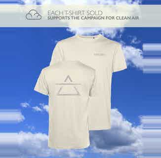 Air Element   Organic Cotton T Shirt   Off White from Varlden in T shirts, Tops