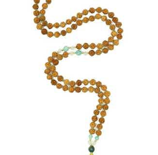 Creativity | Yoga Bead Necklace from Inhala Soulwear in Necklaces, Jewellery