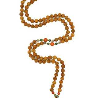 Abundance | Yoga Bead Necklace from Inhala Soulwear in Necklaces, Jewellery