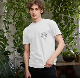 R Truth   Certified Organic Cotton Gender Neutral T-shirt   White from Ration.L