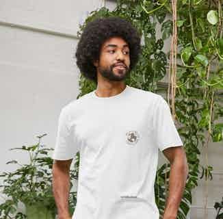 R Truth | Certified Organic Cotton Gender Neutral T-shirt | White from Ration.L in Men's Sustainable Fashion,