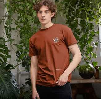 R Truth   Certified Organic Cotton Gender Neutral T-shirt   Rust from Ration.L