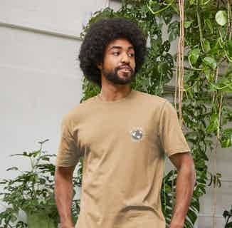 R Truth | Certified Organic Cotton Gender Neutral T-shirt | Sand from Ration.L in Men's Sustainable Fashion,