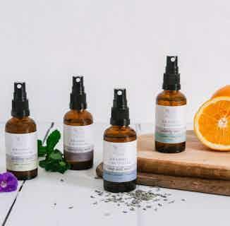Uplifting Mist | Neroli and Geranium Essential Oil Spritz | 50ml from Bramble & Blossom in Scents & Fragrance, Homeware